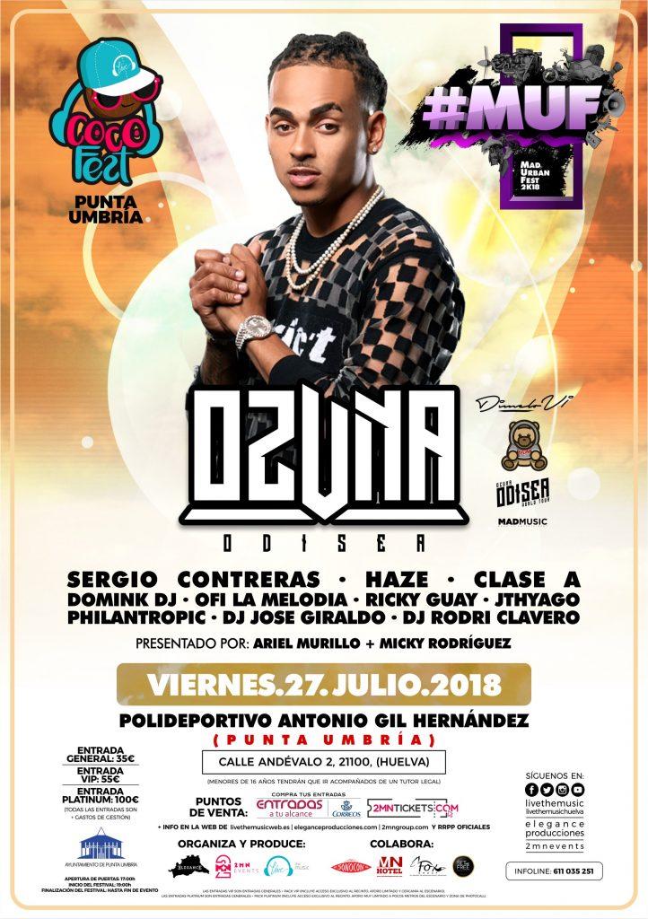 Flyer A5 (CARA A) MUF 2018 - Vie.27.Jul (Huelva)