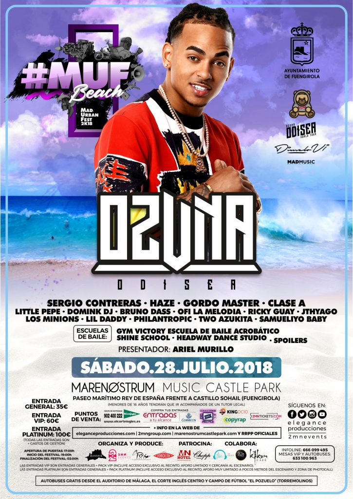 Flyer A5 MUF Beach 2018 - Sab.28.Jul (Marenostrum - Fuengirola) CARA A