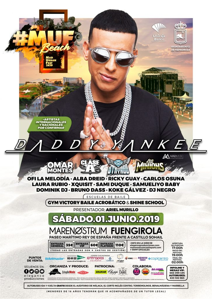Flyer A6 (cara A) MUF2K19 Beach - Sab.01.Jun (Marenostrum - Fuengirola)