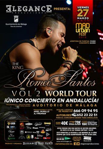 Cartel A3 AVANCE Romeo Santos - Vie.27.Mar.2015 (Auditorio de Malaga) copia