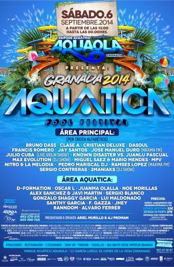 Flyer A5 Aquatica Pool Festival - Sab.6.Sep (Aquaola) CARA B
