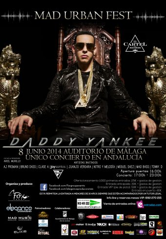 Flyer daddy yankee final a3