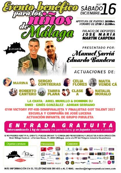 evento Benéficos Niños Málaga 2017
