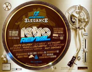 Retro Revival 12 Aniversario Elegance Producciones