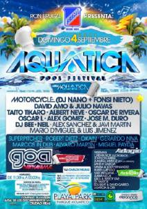 acuatica Pool Festival Playa Park