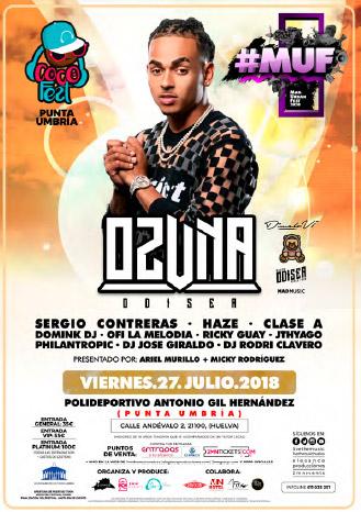 Mad Urban Fest 2018 Ozuna Huelva