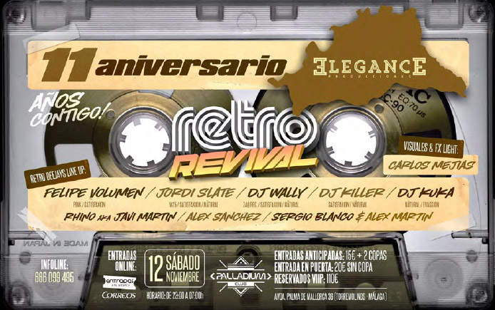 retro Revival 11 Aniversario