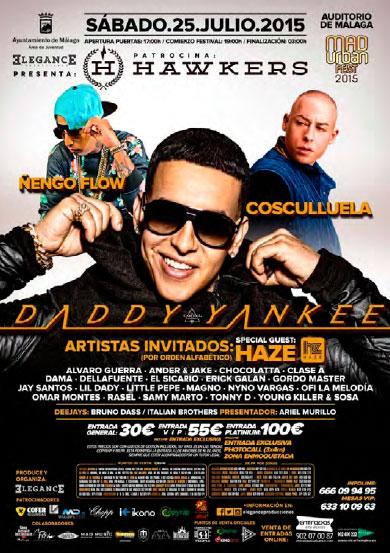 MUF2015 Daddy Yankee