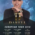 gira Darell Europa